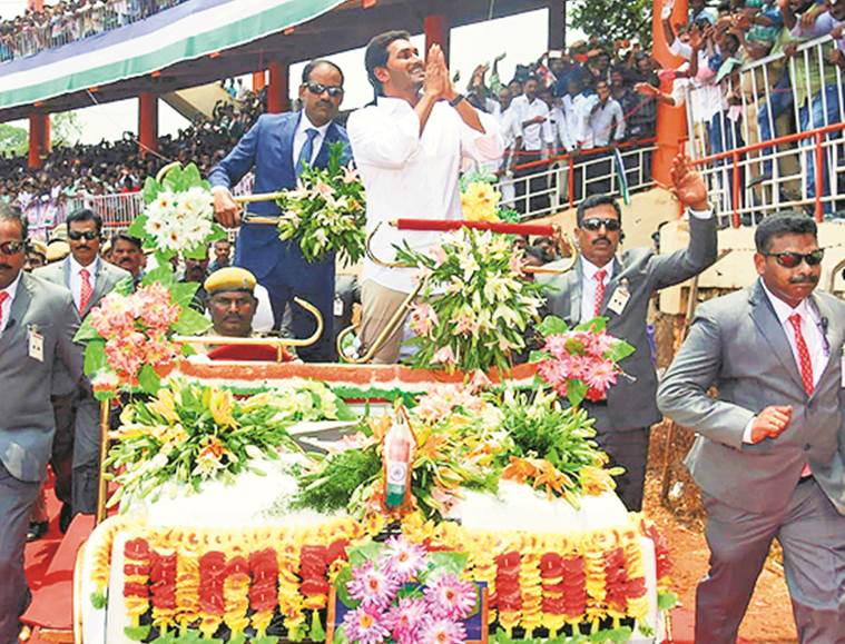 Jagan's Yatra: Raising a party from ground, one step at a
