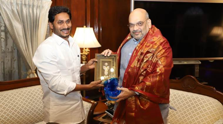 Andhra CM Jagan requests Amit Shah to 'soften PM's heart' on special category status
