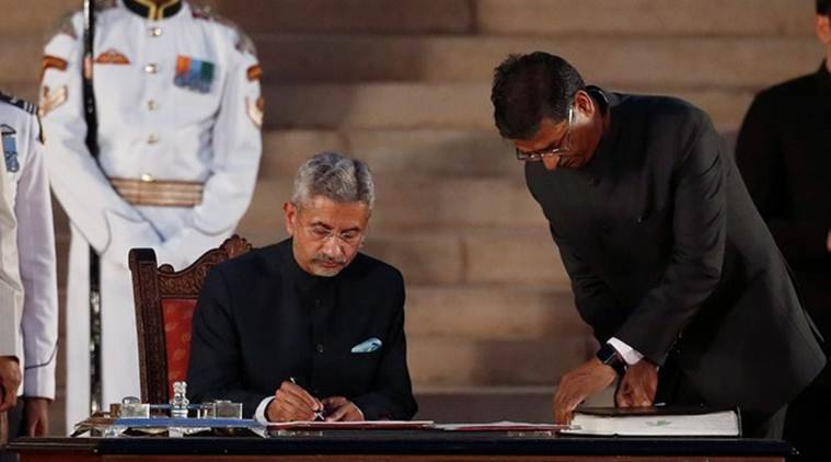 Now in external affairs minister, S Jaishankar faces a little diplomacy within