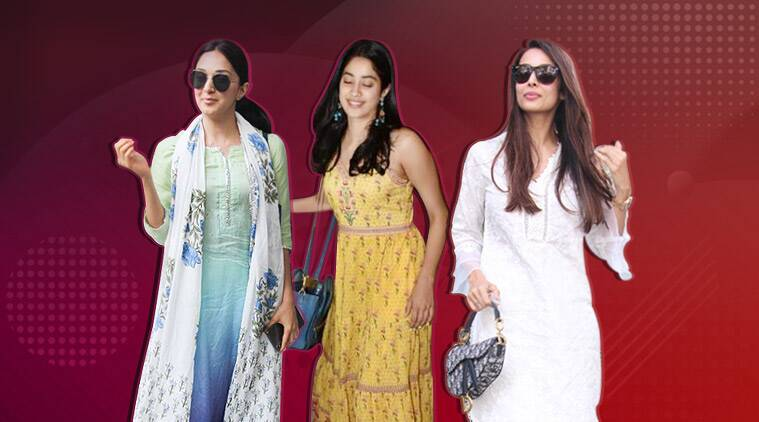 Janhvi Kapoor , Malaika Arora , Kiara Advani, Janhvi Kapoor fashion, Malaika Arora fashion