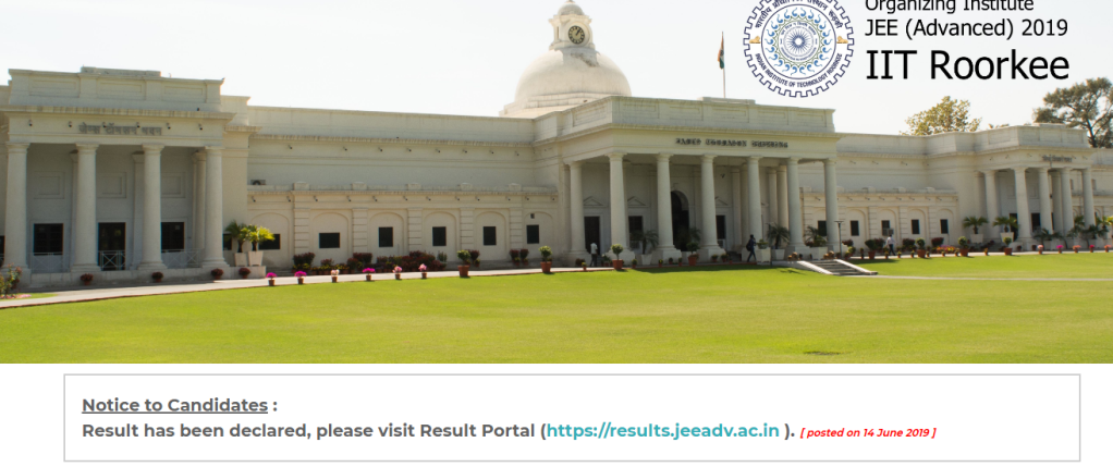 jee result, jee advanced, jeeadc.ac.in