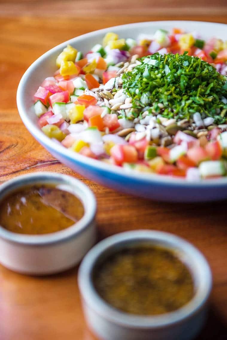 jhalmuri, jhalmuri salad, easy to make recipe, indian express, indian express news