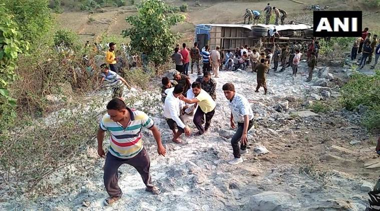 Jharkhand: Six dead, 43 injured as bus falls into gorge