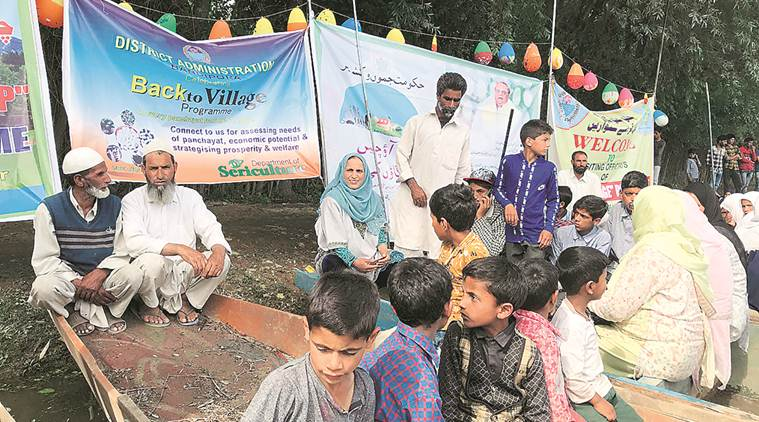 In J&K, administration goes to the doorstep: 4,500 officers to spend time in villages — among people