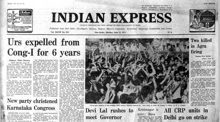 Forty Years Ago, June 25, 1979: Congress Expels Urs