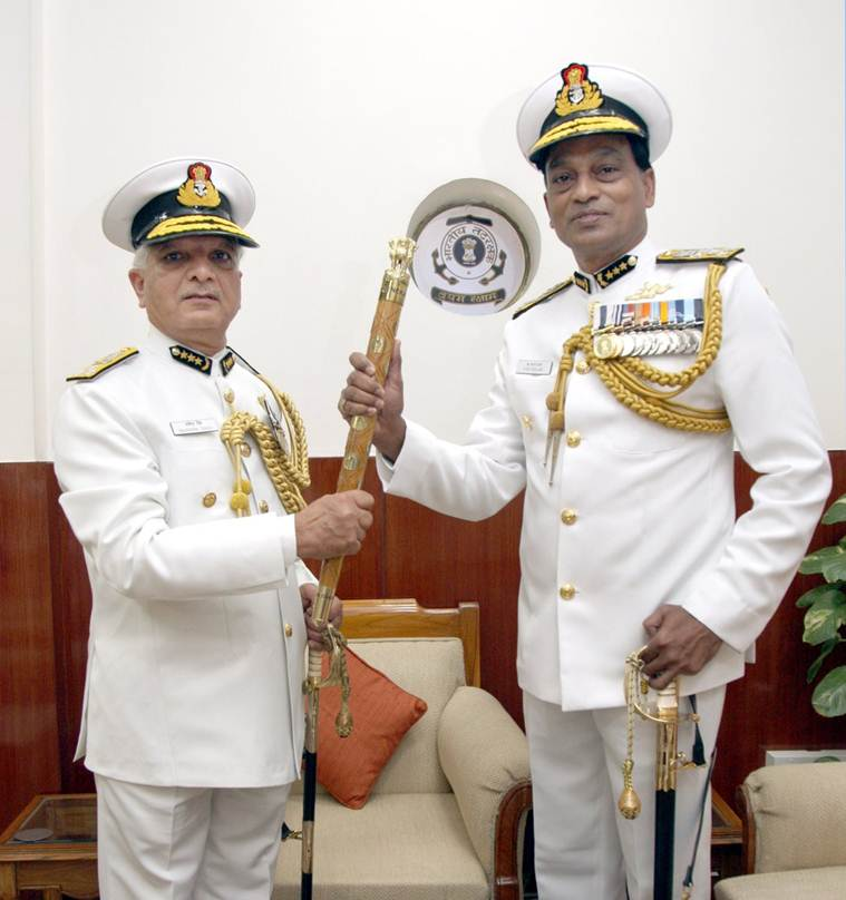 k natarajan, natarajan, indian coast guard, indian coast guard dg, indian coast guard director general, india news, Indian Express