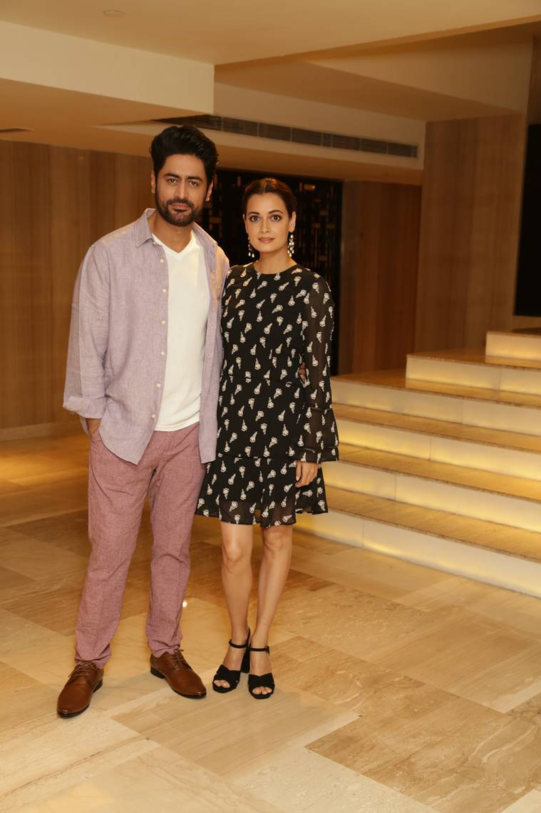 Dia Mirza Kaafir, Mohit Raina Kaafir, Dia Mirza pics, Mohit Raina pics, Kaafir, Dia Mirza Mohit Raina, new pics dia mirza, latest pics mohit raina shiva, mohit raina zee 5, dia mirza web series, dia mirza zee 5, new web series, kaafir pics, kaafir kashmir, kashnir new web series, zee 5 series, see 5 promotion pics, new pics, dia mirza beauty, dia mirza, mohit raina fitness, indianexpress.com, indianexpressonline, indianexpress, indianexpressnews, APH Images dia mirza, APH Images mohit raina, Kaafir promotions, Kaafir 2019 web series, mohit raina looks