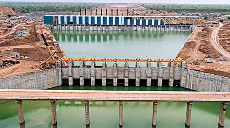 telangana, telangana Kaleshwaram Lift Irrigation Project, Kaleshwaram Lift Irrigation Project inauguration, K Chandrasekhar Rao, Kaleshwaram Lift Irrigation Project, telangana news, india news