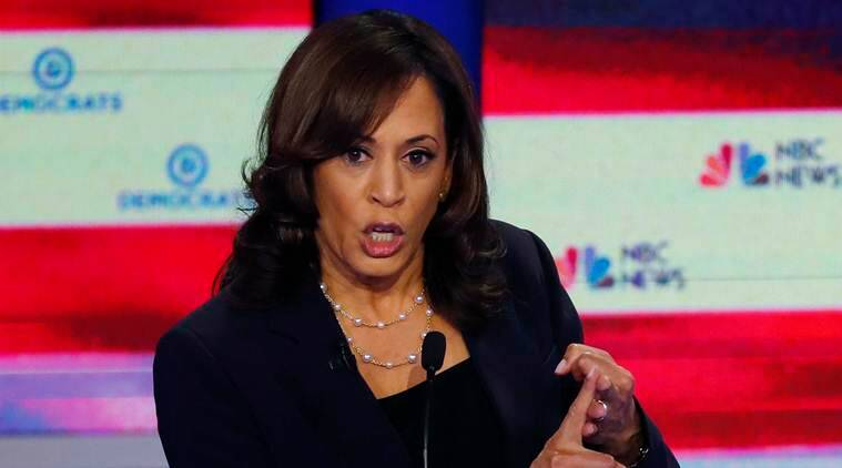 kamala ahrris, joe biden us president, kamala harris for biden, 2020 us presidential elections, world news, indian express