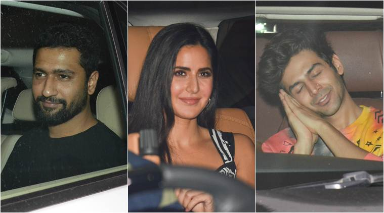 Kartik Aaryan, Ananya Panday, Katrina Kaif, Vicky Kaushal and others attend Karan Johar's birthday party