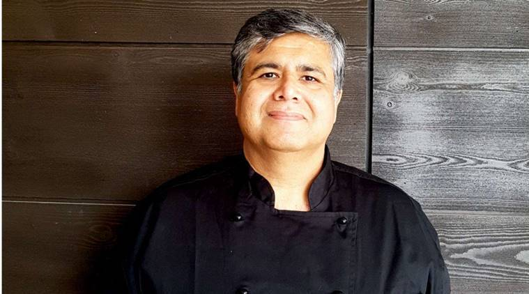 Michelin-starred chef Karunesh Khanna, who is chef Karunesh Khanna, chef Karunesh Khanna chicken in vegan dishes, chicken in vegetarian dishes, indianexpress.com, indianexpressonlione, indianexpressnews, indianexpress, Tamarind executive chef, what is Michelin-star, karunesh khanna food, charlize theron karunesh khanna, david beckham karunesh khanna, knorr chicken cubes karunesh khanna, how safe is vegan, is vegan dishes available, chicken cubes, how to know if your food is safe