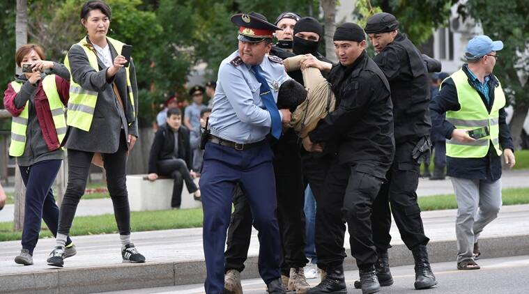 Nearly 1,000 Kazakhs detained over protests - authorities