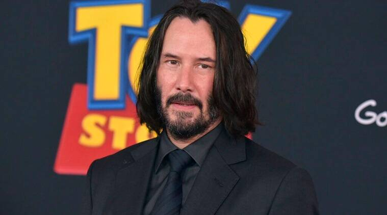 Keanu Reeves social media Toy Story 4