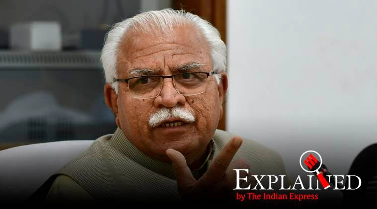 Haryana government, EBPG, EBPG quota haryana, Haryana quota, Haryana EWS quota, quota Haryana, express explained