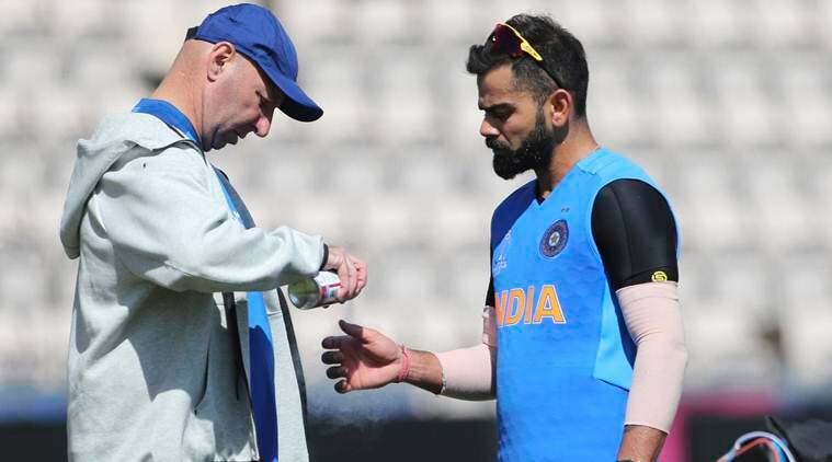 world cup 2019, world cup 2019 england, Skipper virat Kohli, virat Kohli injured, virat Kohli thumb injury, indian cricket,