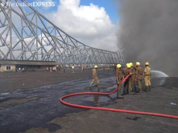 Kolkata fire: Massive blaze at chemical factory near Howrah bridge; no casualties