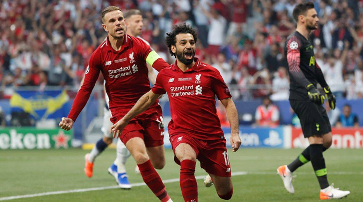 uefa champions league final highlights liverpool beat tottenham 2 0 mo salah gets redemption at last sports news the indian express uefa champions league final highlights