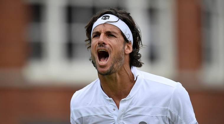 Wild Card Lopez Beats Simon For Queen's Club Title