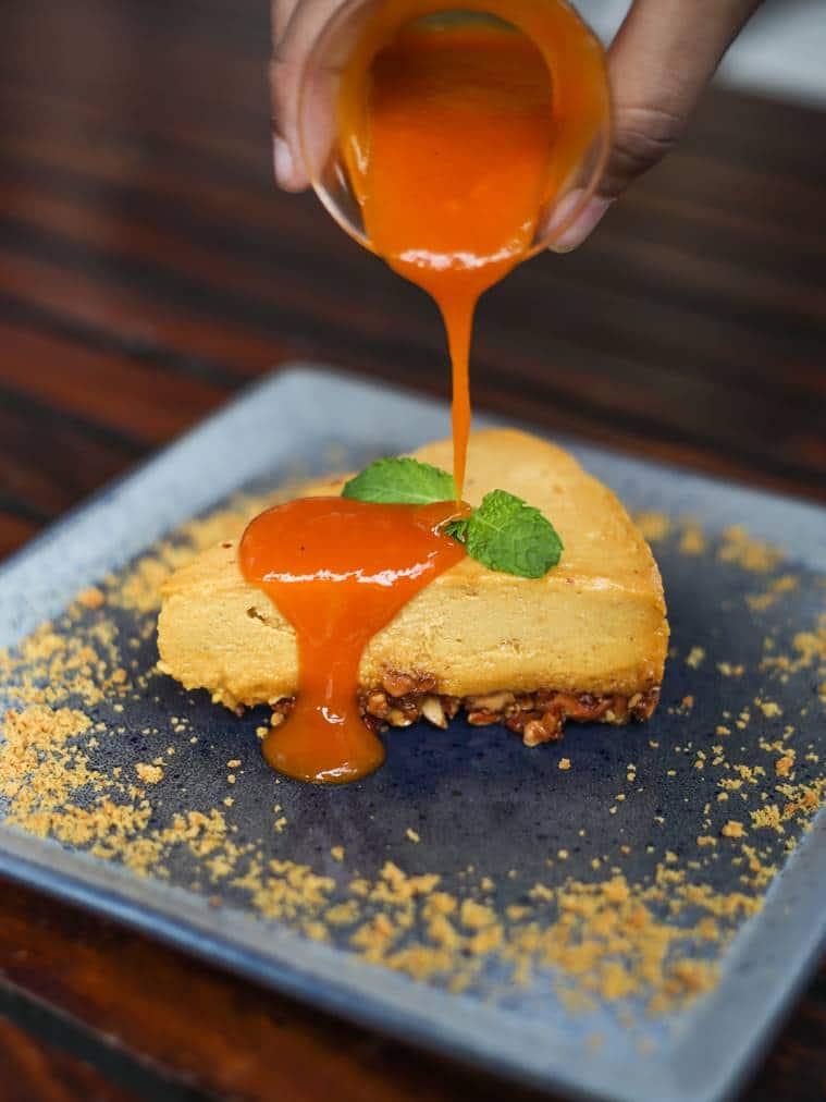 mango cashew tart, mango recipe, delicious mango recipe, indian express