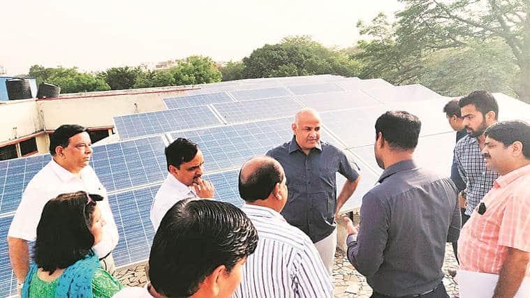 Solar panels in pipeline for over 500 Delhi schools