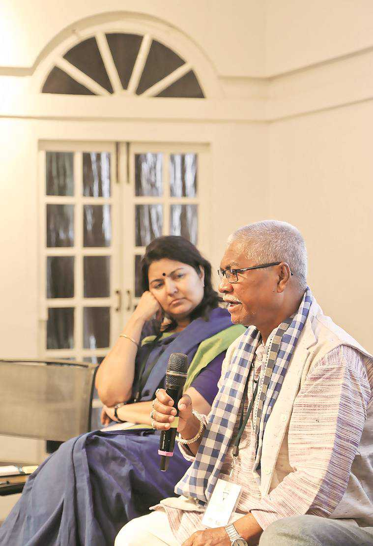 Bengali writer, Manoranjan Byapari, bengali author, indian express, indian express news