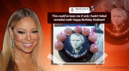 UK, Siobhan, Siobhan birthday cake, Mariah Carey, Mariah Carey cake,Mariah Carey singer, Marie Curie scientist, Marie Carie cake, Birthday cake mistake, birthday cake blunder, indian express