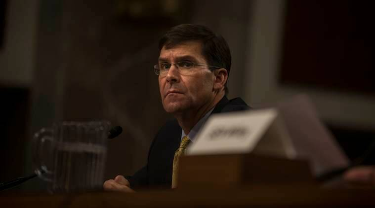 Mark Esper, named as US acting defence secretary, brings military background to the job