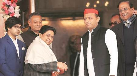 Mayawati, Mayawati on private jobs, quota reservation, mayawati on reservation, Akhilesh yadav, akhilesh yadav of development, up news, indian express