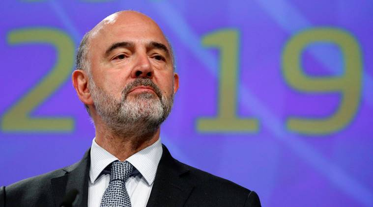 European Union Commissioner, Economic Affairs Commissioner, Pierre Moscovici, G20 finance meeting, solve trade U.S. vs China,G20 leaders summit, Indian express