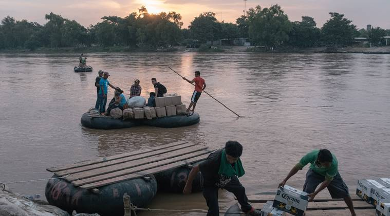 Guatemala, Guatemala border, Mexico, Mexico smuggling, smuggling, Smugglers, United States, migration, Border security forces, Deployment, World news, Indian Express news
