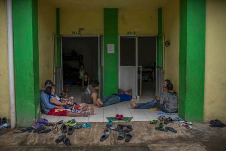 The Mexican authorities have been breaking up migrant caravans and setting up round-the-clock roadblocks along common routes north.