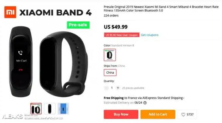 Xiaomi Mi Band 4 announced: The cheap fitness band just got better