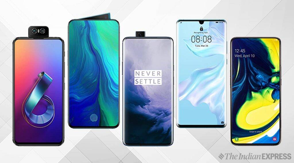 Asus 6Z, Oppo Reno 10x zoom, OnePlus 7 Pro, Huawei P30 Pro, Galaxy A80, camera smartphones, smartphone with special camera, camera smartphones popup
