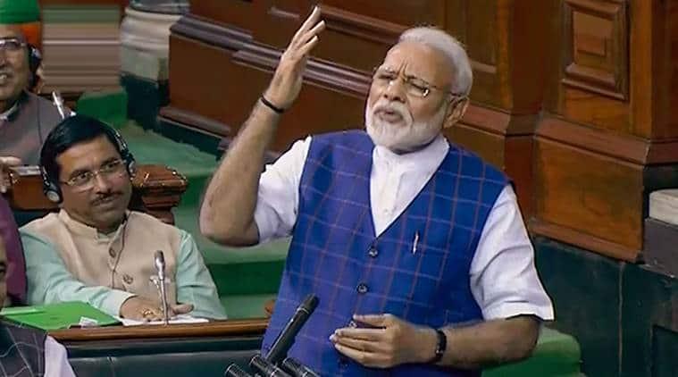 Narendra Modi, Lok Sabha, Modi Lok Sabha speech, Modi in Lok Sabha, Narsimha Rao, PV Narismha Rao, Arif Khan, India News, Indian Express