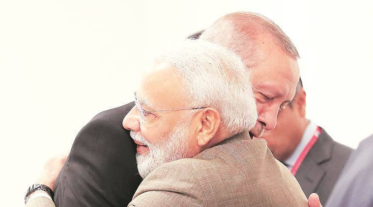 Modi, Erdogan talk S-400 air defence deal, US sanctions