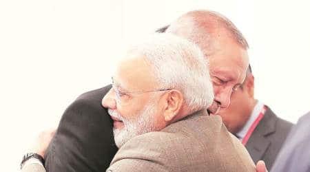 Modi, Erdogan talk S-400 air defence deal, US sanctions