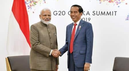 Narendra Modi, Modi in Osaka, G20 Summit, Japan G20 Summit, Joko Widodo, India-Indonesia, India Indonesia 50 billion trade target, India Indonesia bilateral trade, India Indonesia 50 billion bilateral trade, India Indonesia bilateral ties, World news, Indian Express
