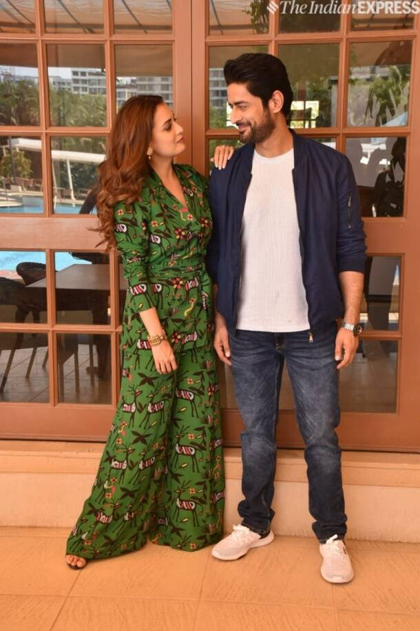 mohit raina and dia mirza promote Kafir