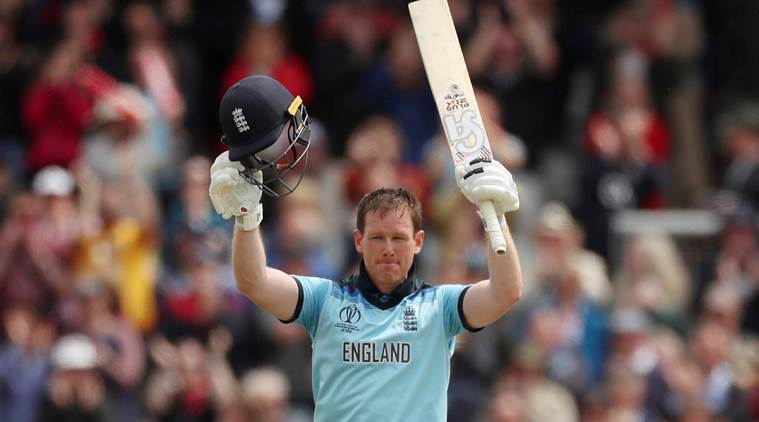 Eoin Morgan blasts record 17 sixes, slams fourth fastest World Cup century