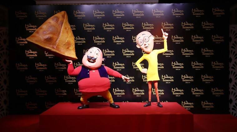 Motu Patlu find a place among stars at Delhi's Madame Tussauds