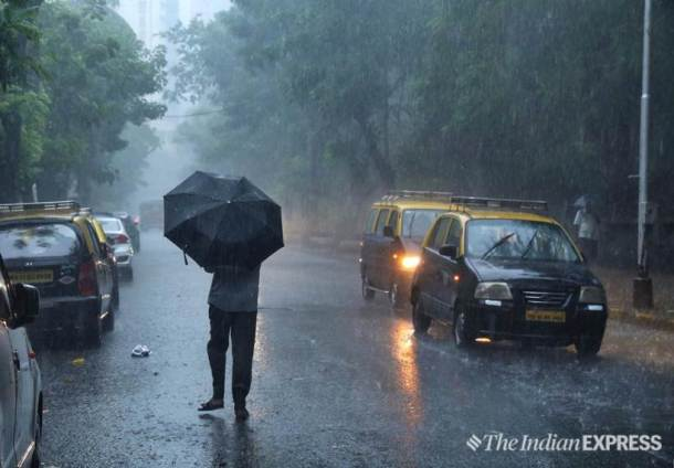 Mumbai rain, Monsoon, Mumbai Monsoon, Maharashtra rain, Southwest monsoon,Indian Express