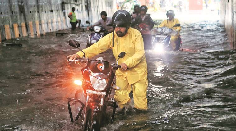 mumbai rains, mumbai floods, mumbai water logging, bmc, mumbai weather, mumbai rains death toll, mumbai rains how many killed, Brihanmumbai Municipal Corporation, rainfall in india, mumbai news