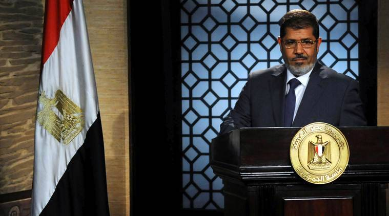 Egypt's ousted Islamist president Mursi died from a heart attack – state TV