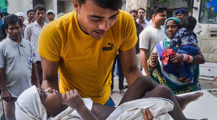 Bihar, Bihar Muzaffarpur, Muzaffarpur deaths, Muzaffarpur AES deaths, Muzaffarpur encephalitis, encephalitis deaths, encephalitis deaths Muzaffarpur, Indian healthcare, Indian Express, latest news