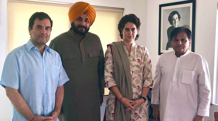 navjot singh sidhu, rahul gandhi, navjot sidhu rahul gandhi, rahul gandhi navjot sidhu, congress, punjab congress, congress in punjab, priyanka gandhi, ahmed patel, capt amarinder singh, punjab chief minister, india news, Indian Express