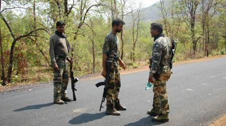 Chhattisgarh Armed Force, Armed Force constable opens fire, Armed Force constable injured, chhatisgarh news, india news, indian express newsc