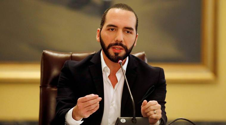 Nayib Bukele, Nayib Bukele El Salvador, Nayib Bukele twitter, El Salvador Twitter, World news, Indian Express, latest news