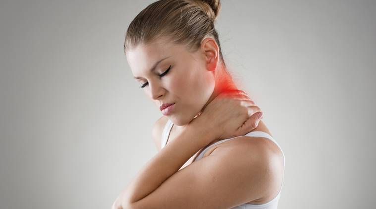 neck pain, back pain, exercise for neck pain, indian express, indian express news