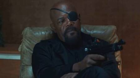Samuel L Jackson in Spiderman Far from home