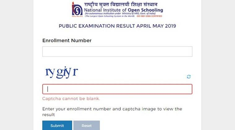 NIOS 10th, 12th results declared, how to check via website